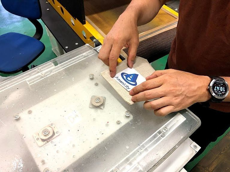 ダイレクト印刷でオリジナル巾着袋を作る