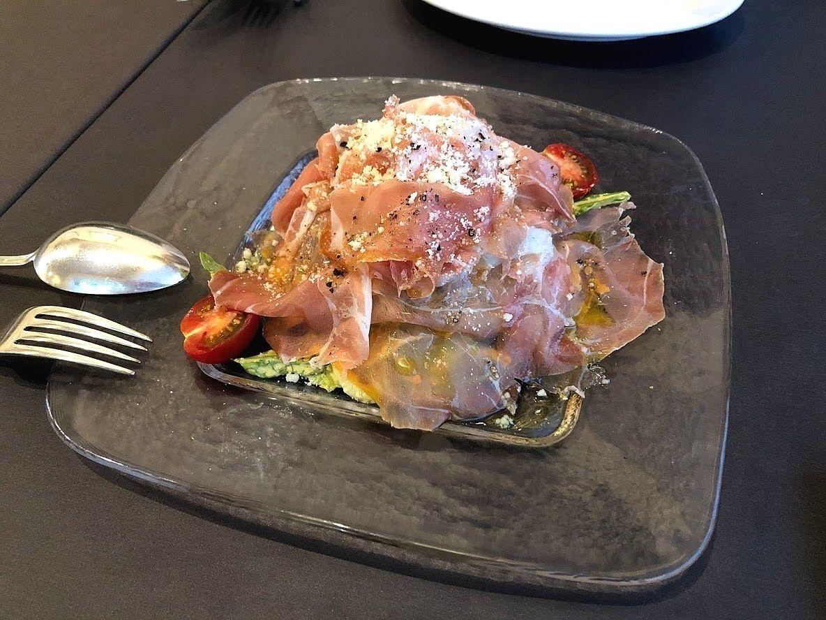イタリア産生ハムのサラダ サルサトミーノ