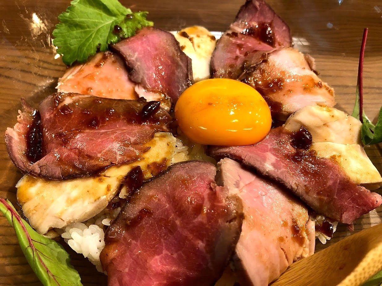居酒茶屋 鑪(たたら)藁焼きロースト肉丼