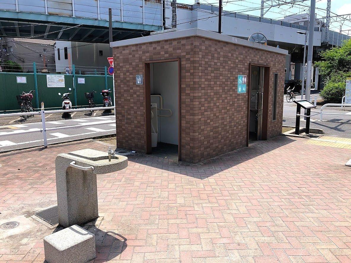水飲み場・トイレ