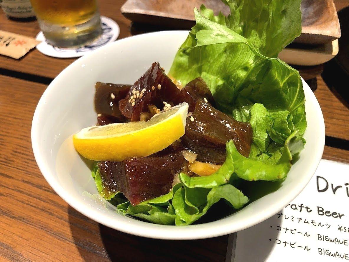 ポキ(ハワイ風マグロ漬け)