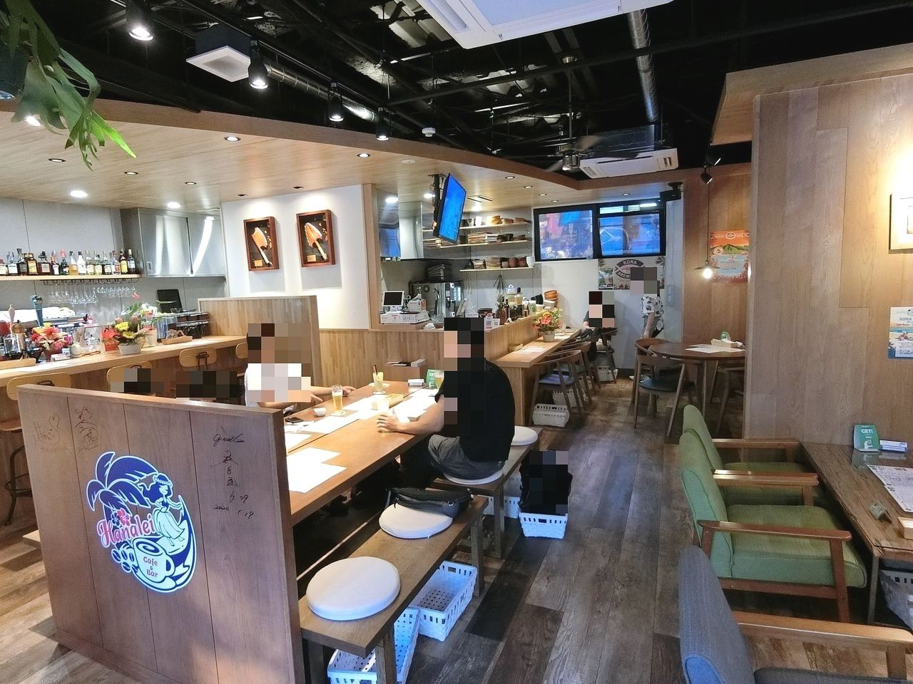 西台のカフェ&バー ハナレイ