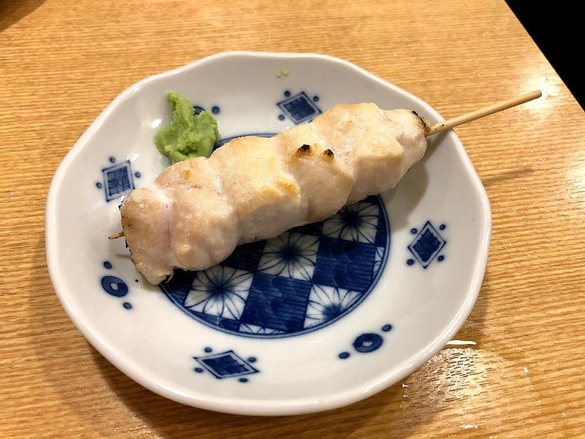 鶏ささみタタキ串