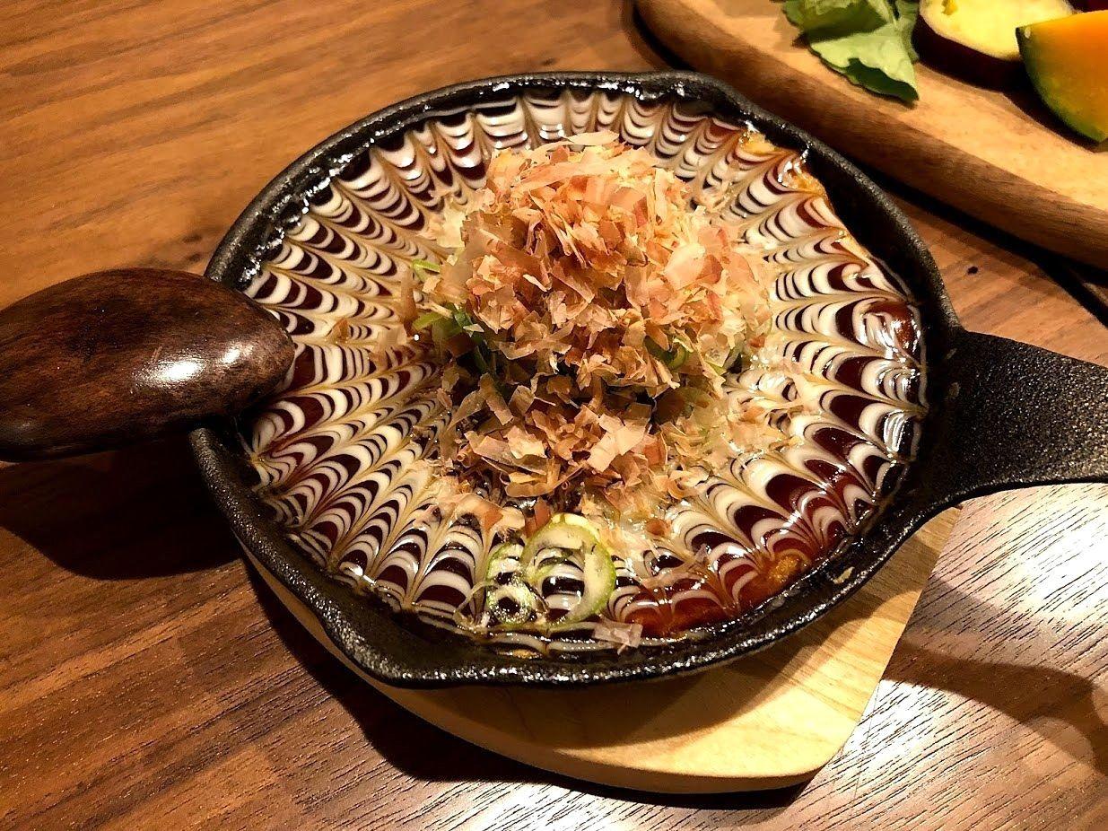 博多風山芋のお好み焼き(580円)