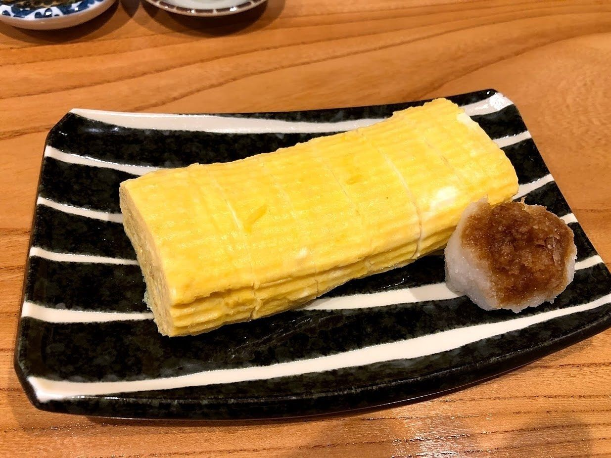 だし巻きタマゴ(450円)