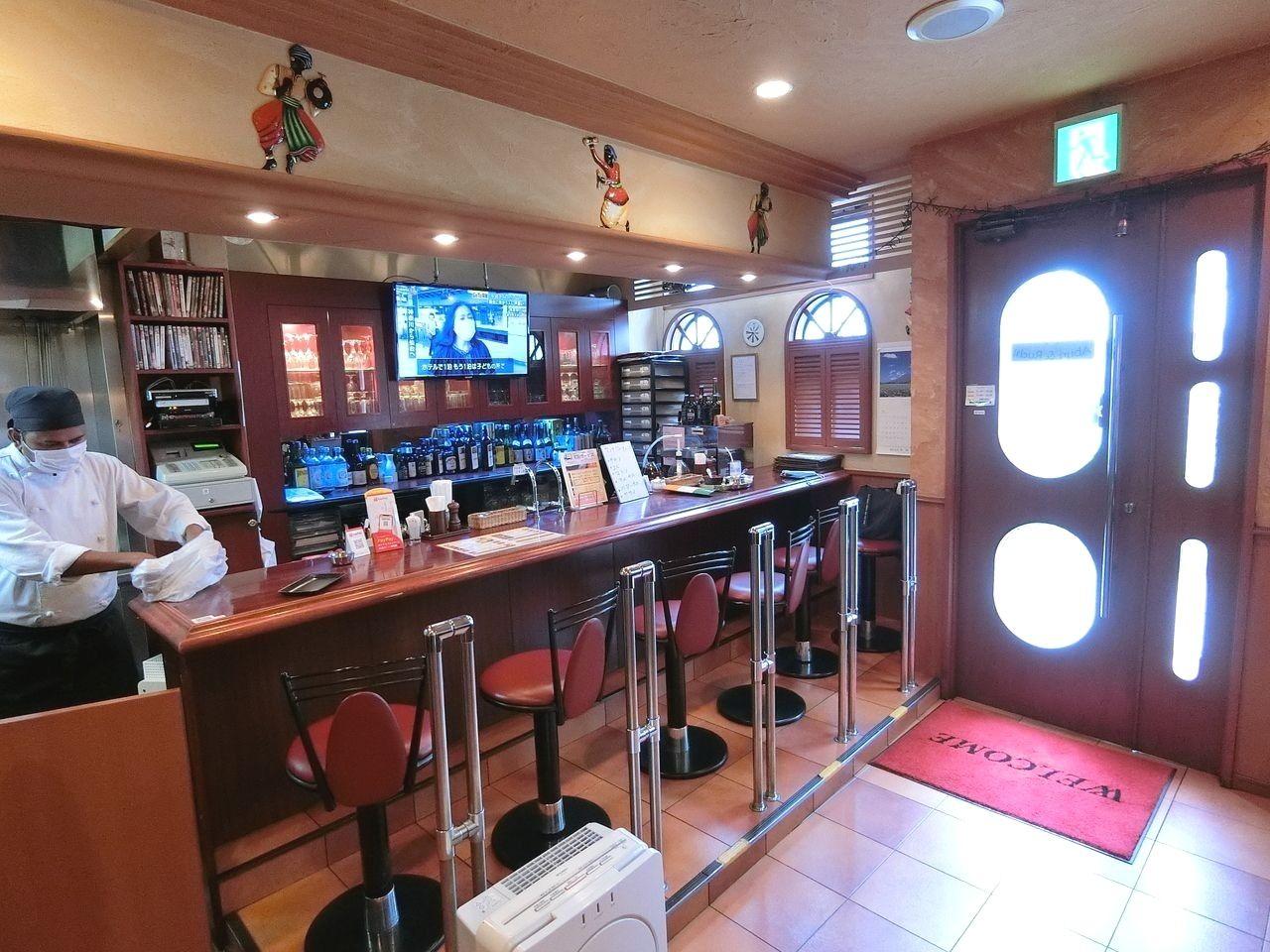 板橋区東坂下のインドレストラン Aburi&Ruchi(アブリ&ルチ)