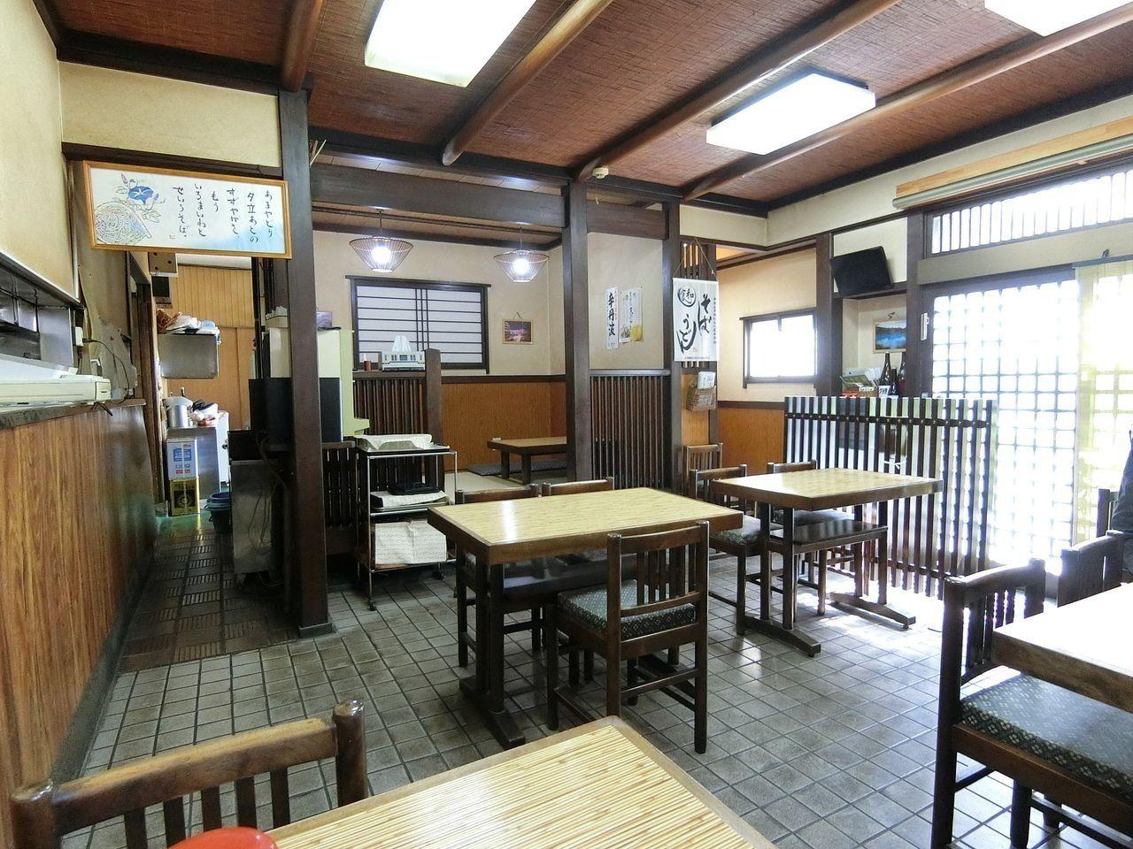 板橋区大山金井町の蕎麦屋「長寿庵」