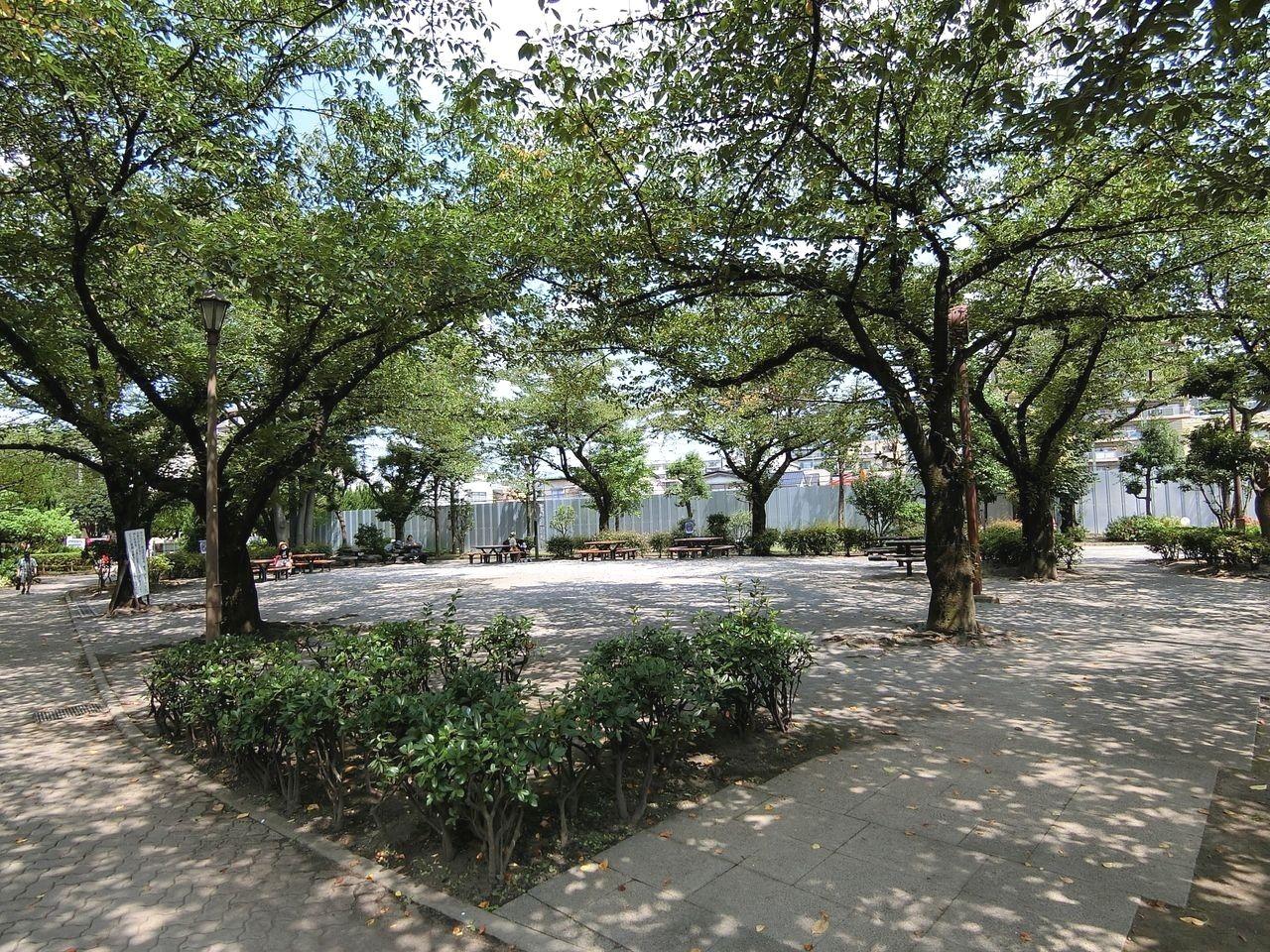 城北交通公園の広場