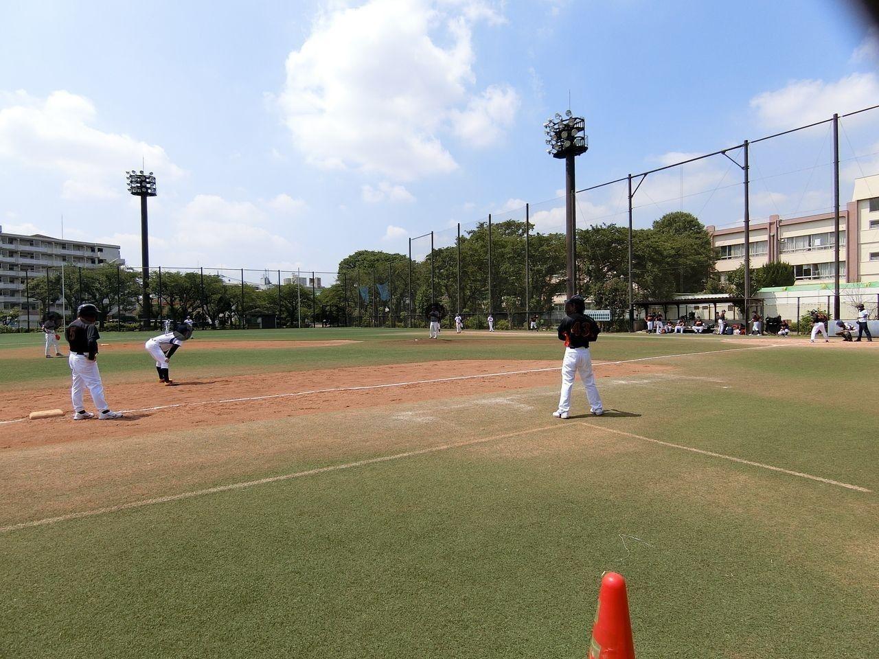 板橋区の城北野球場