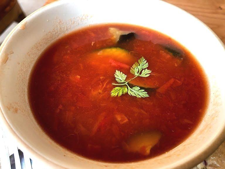具沢山トマトスープ 700円