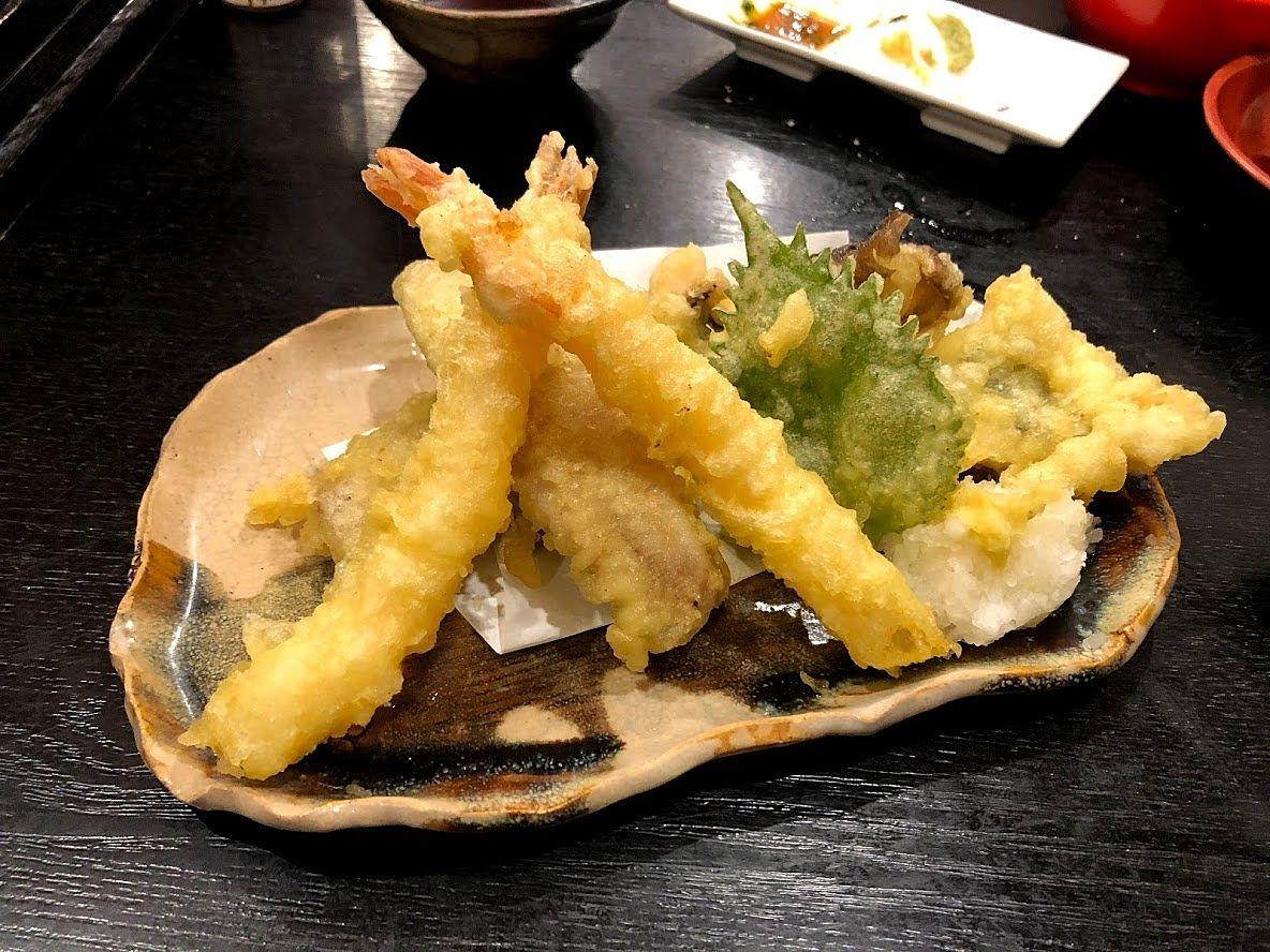 海鮮天ぷら盛