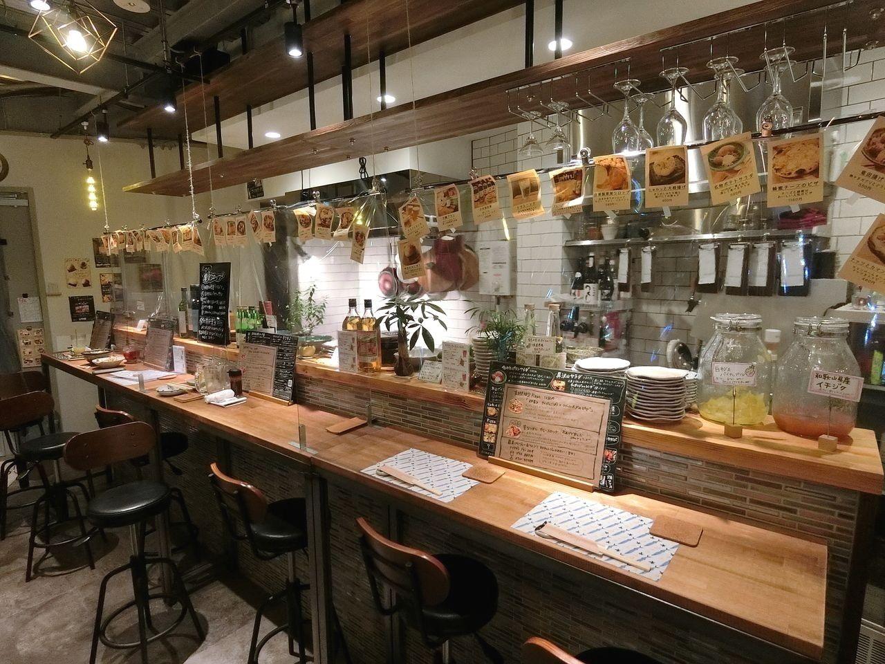北区滝野川6丁目の酒肴バルonikai(オニカイ)
