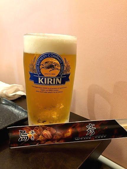 生ビール中(キリンブラウンマイスター)