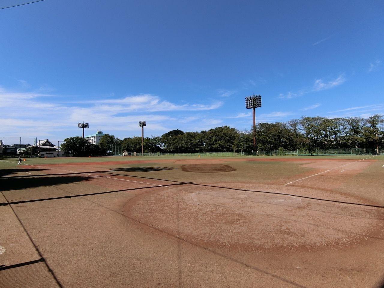 あずさわ野球場