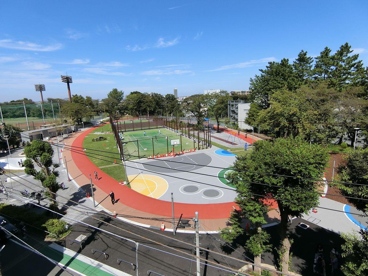小豆沢公園のあずさわスポーツフィールド