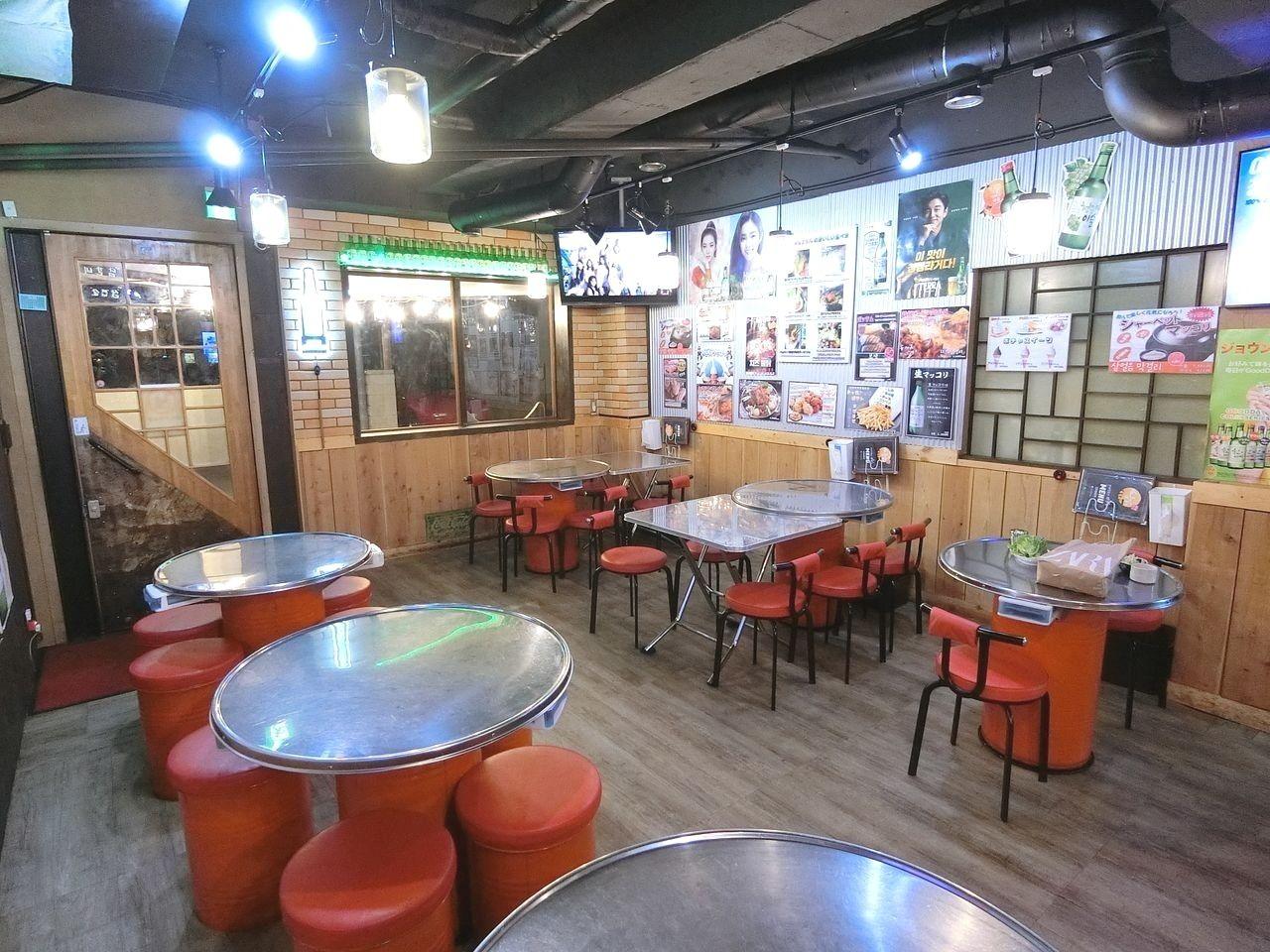 板橋区志村1丁目の韓国料理「坂上のポチャ」