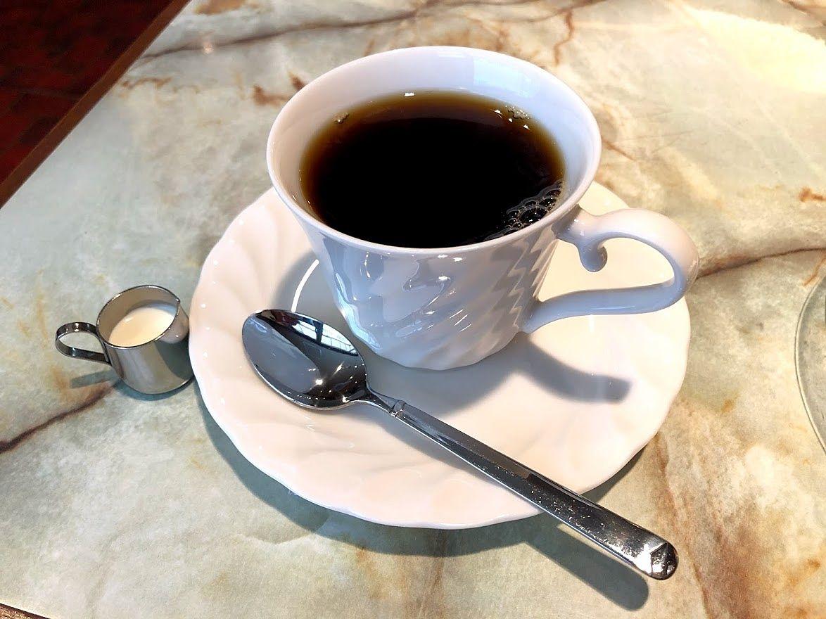 ランチセットのドリンク(ホットコーヒー)