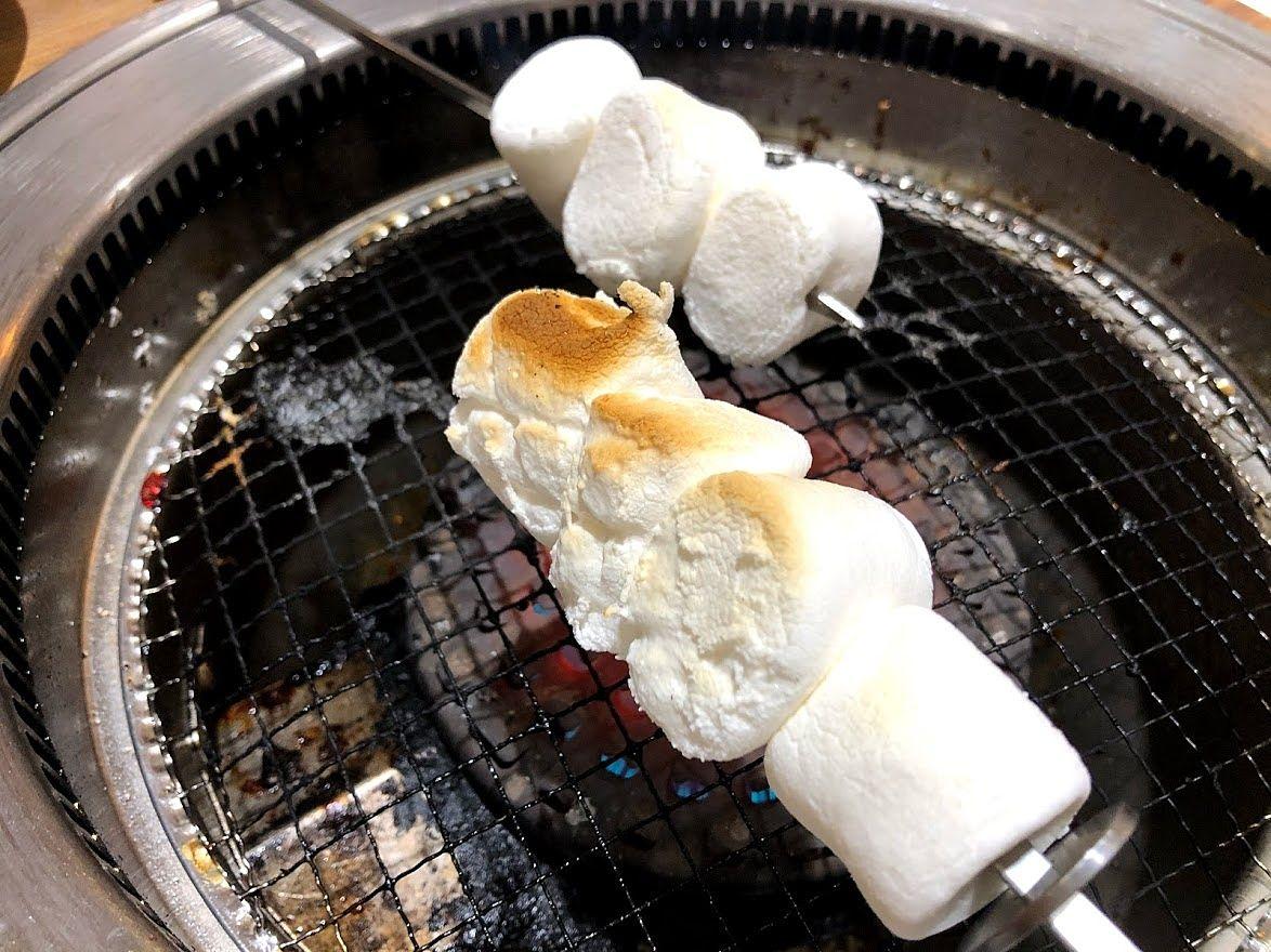 BBQ焼きマシュマロ 290円(税別)