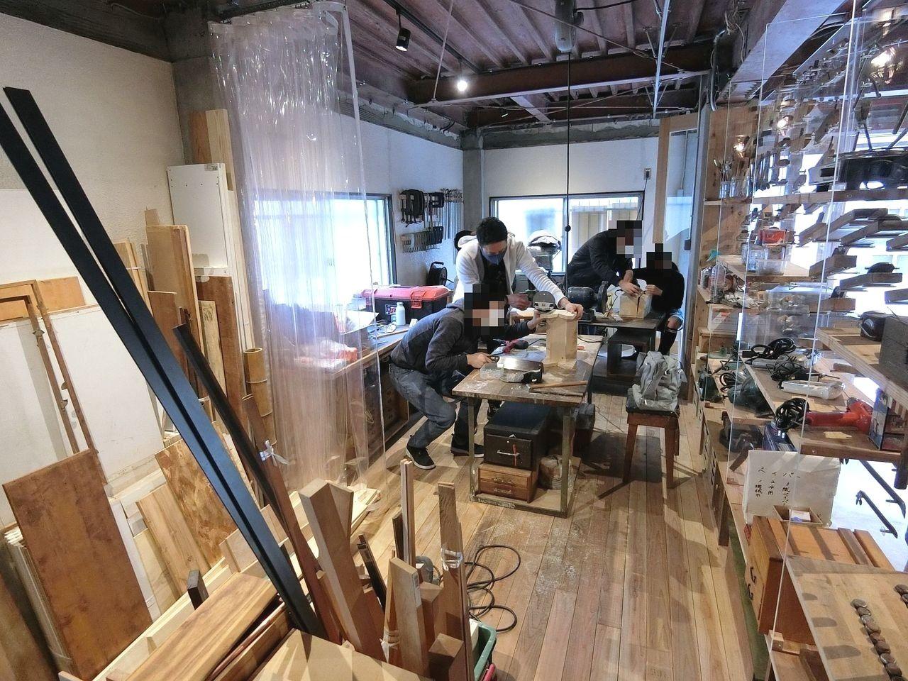 板橋区南町「11-1 studio」でのワークショップ