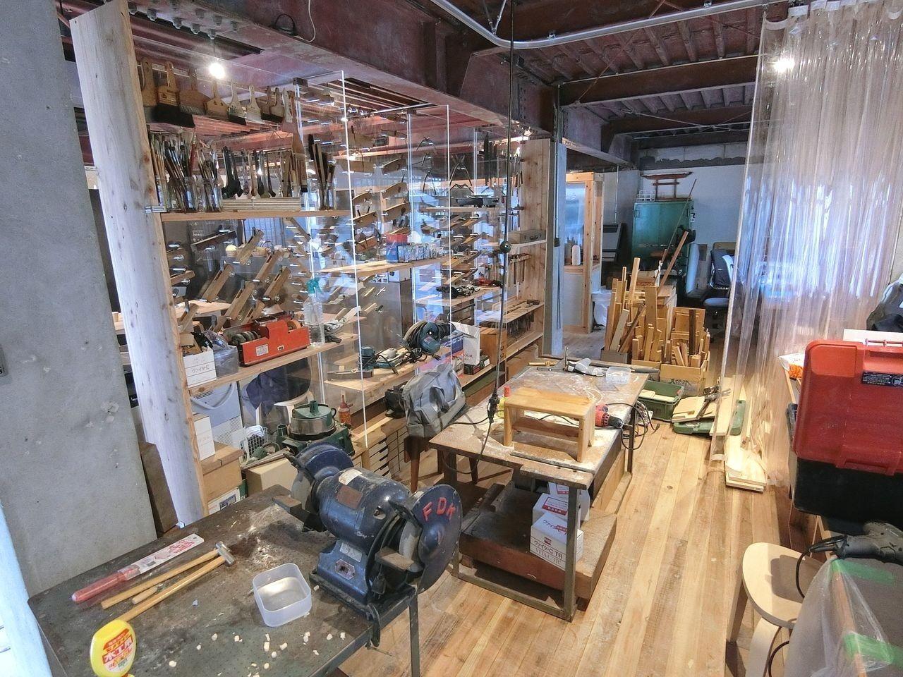 板橋区南町「11-1 スタジオ」のシェア工房
