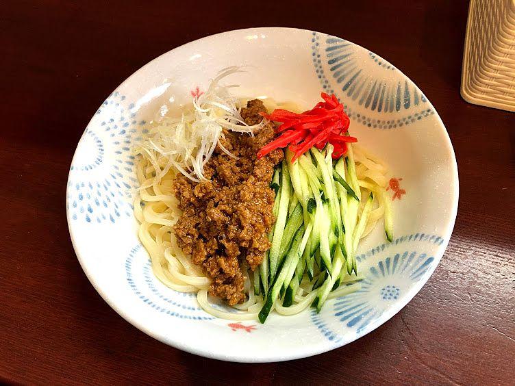 岩手ジャージャー麺 650円(税別)