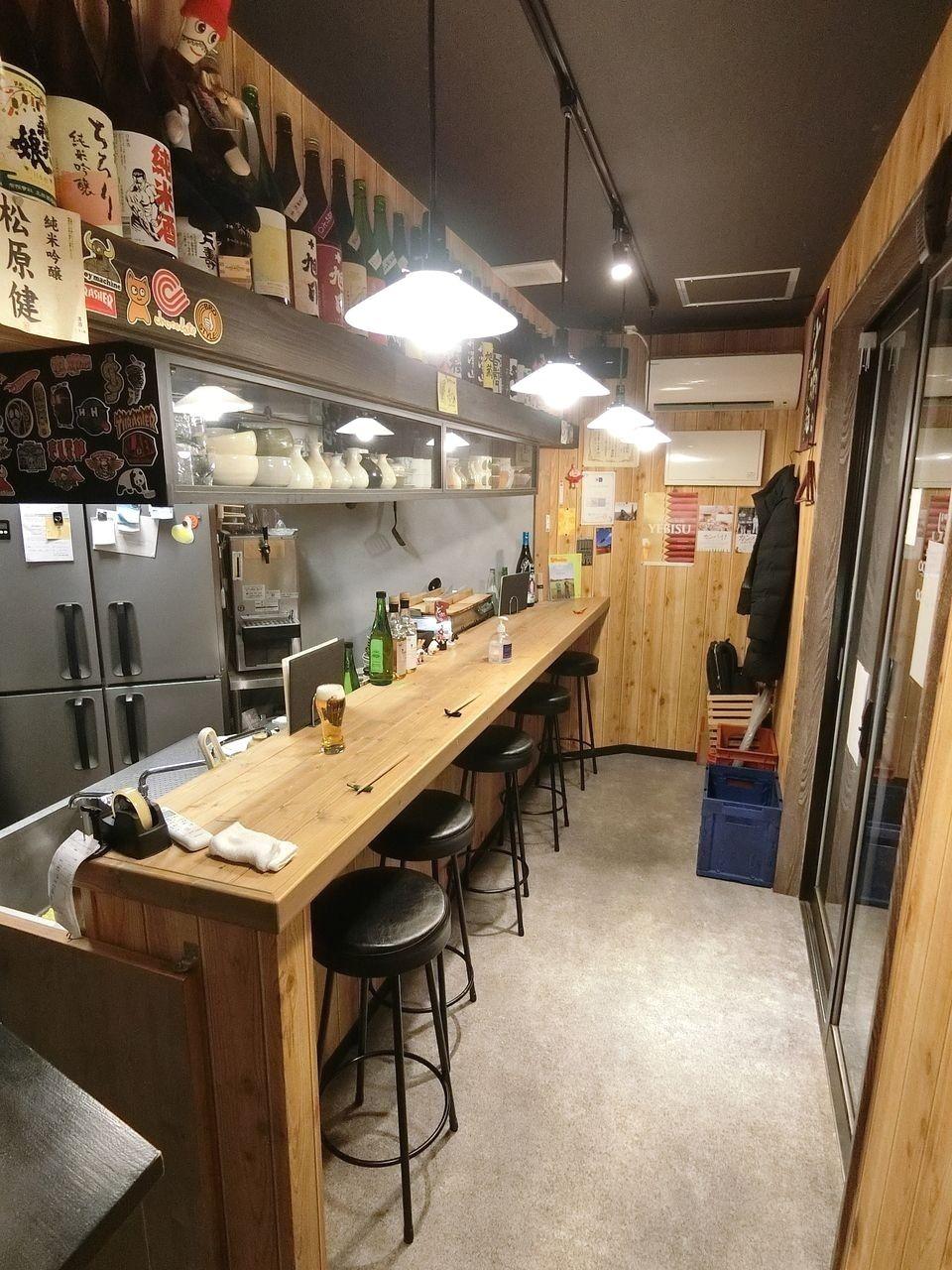 板橋区大山金井町の居酒屋「なかどり」
