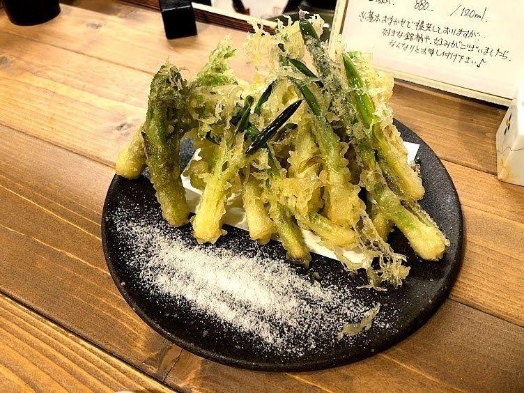 山菜の天ぷら盛り合わせ 780円(税別)