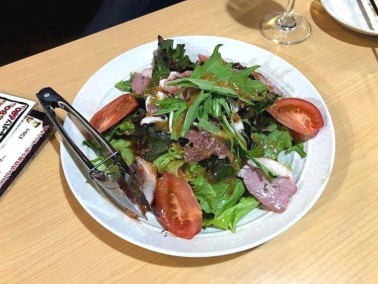 すずきんちのサラダ 780円(税別)
