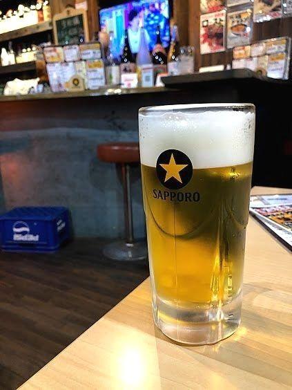 サッポロ生ビール黒ラベル 500円(税別)