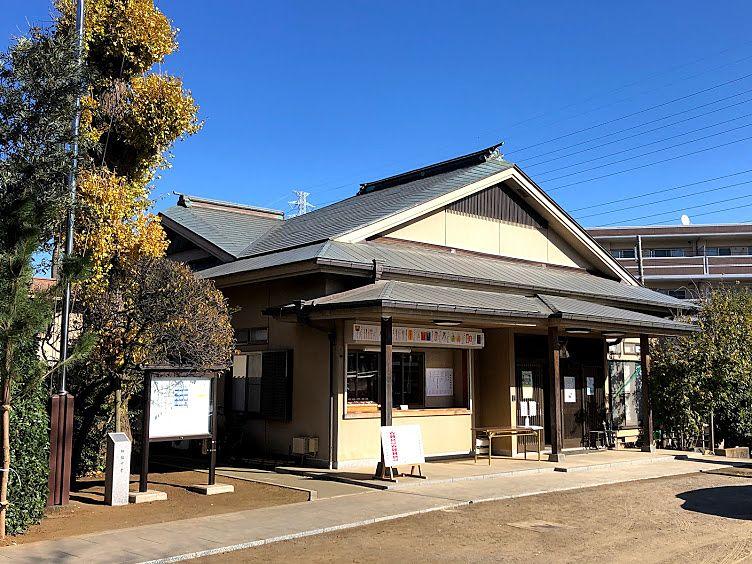 徳丸北野神社の社務所