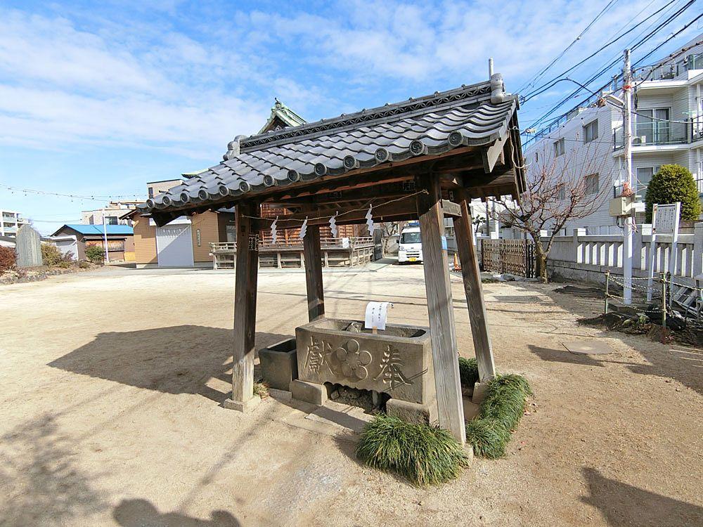 菅原神社(成増)の手水舎
