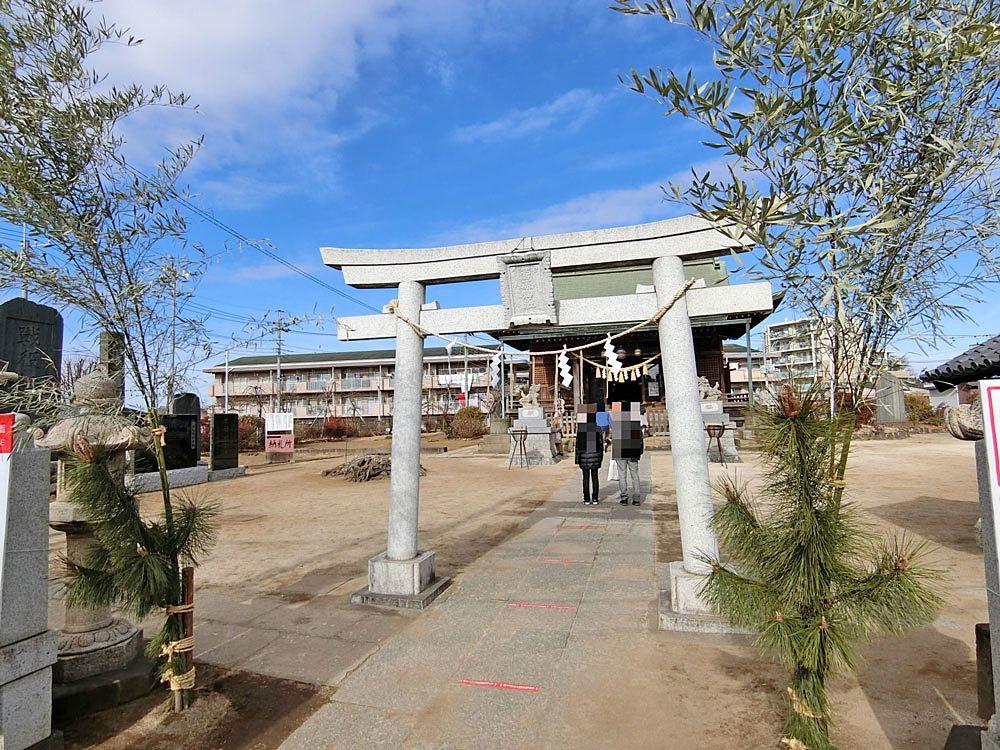 菅原神社(成増)の二の鳥居