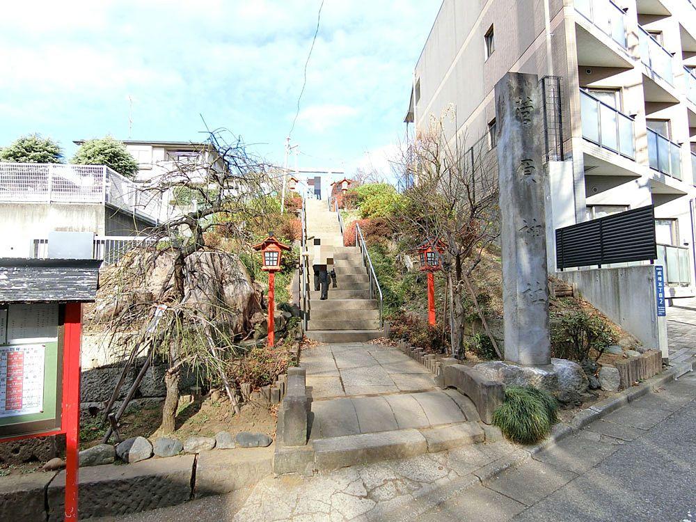 菅原神社(成増)の参道