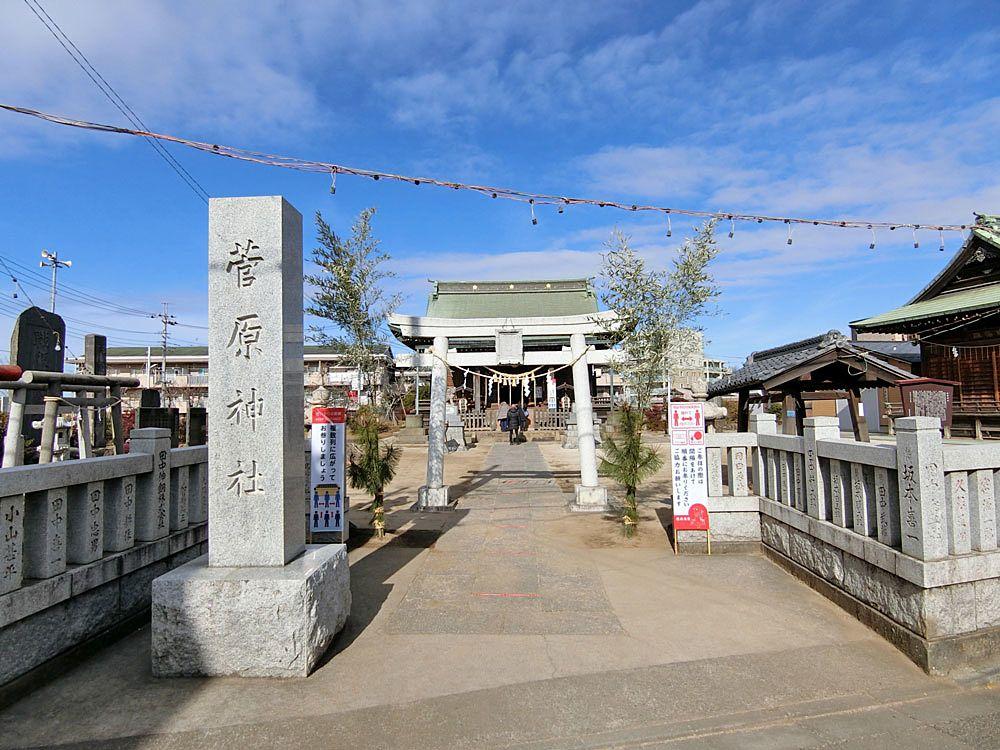 板橋区成増5丁目の菅原神社