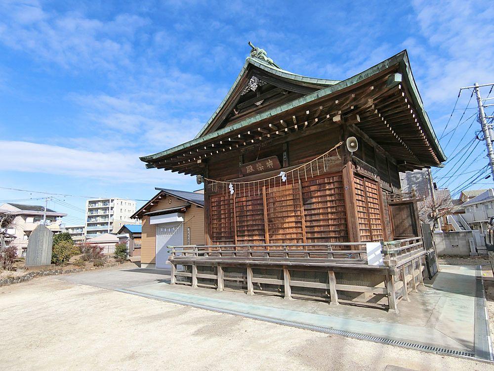 菅原神社(成増)の神楽殿