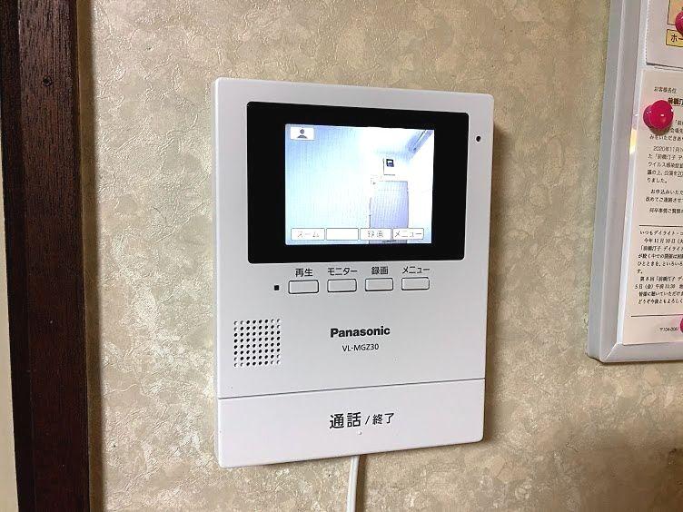 ワイヤレステレビドアホンの室内親機