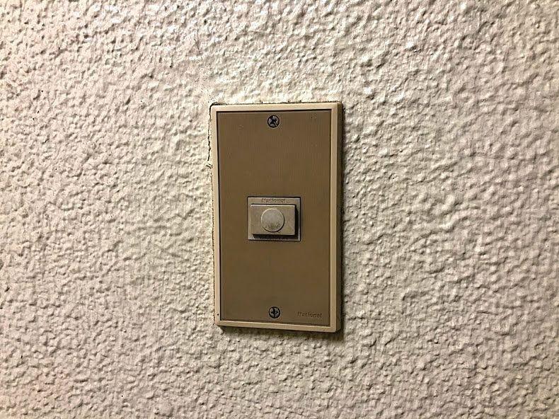 既存のチャイム用押しボタン