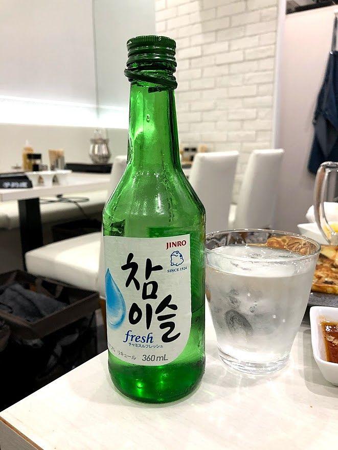 チャミスル(韓国焼酎) 980円(税別)