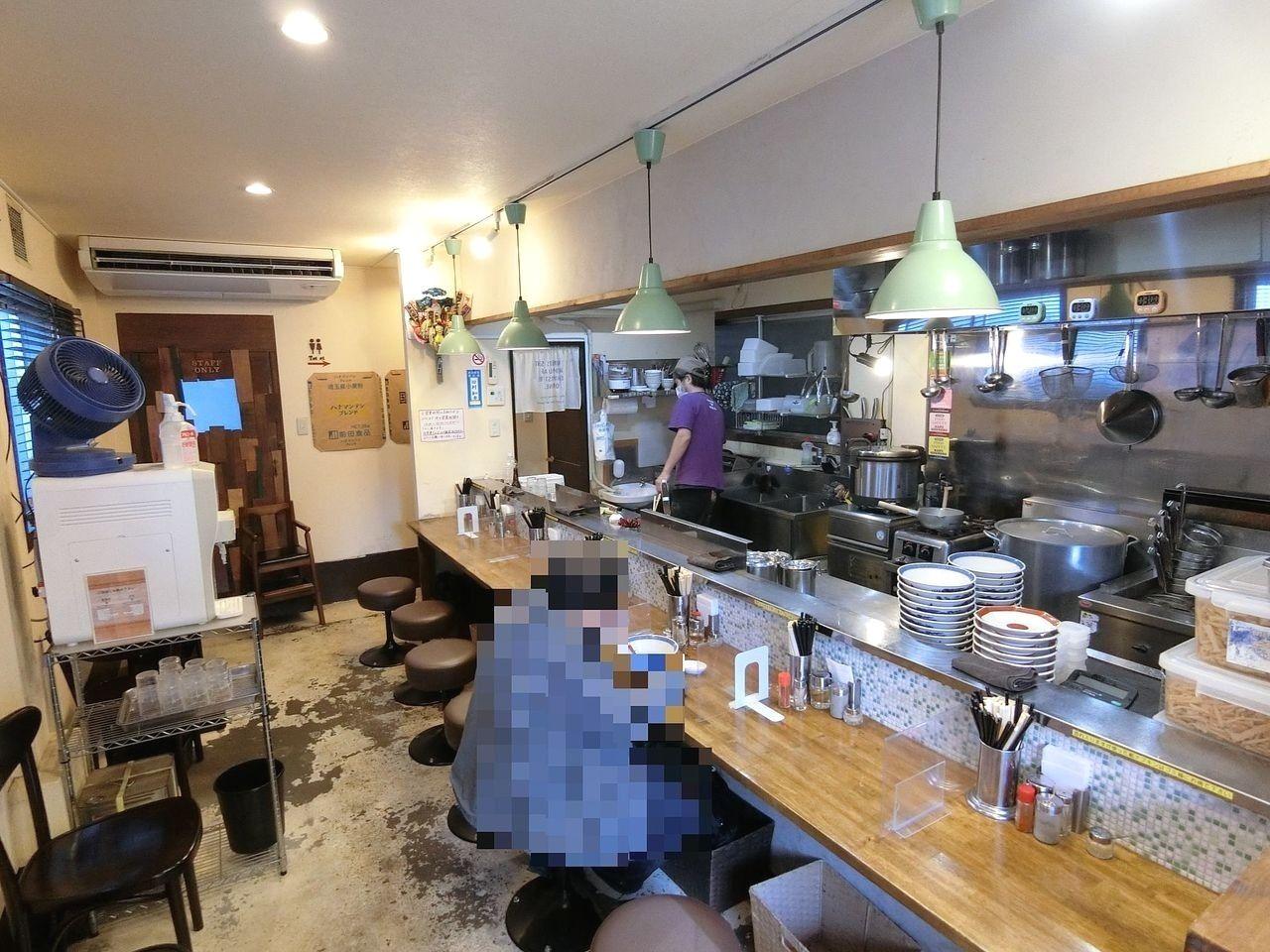 板橋区坂下1丁目の拉麺アイオイ