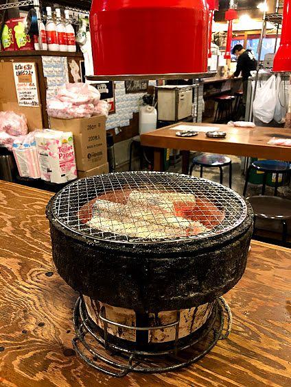 板橋本町の炭火焼肉ホルモン 時楽(じらく)