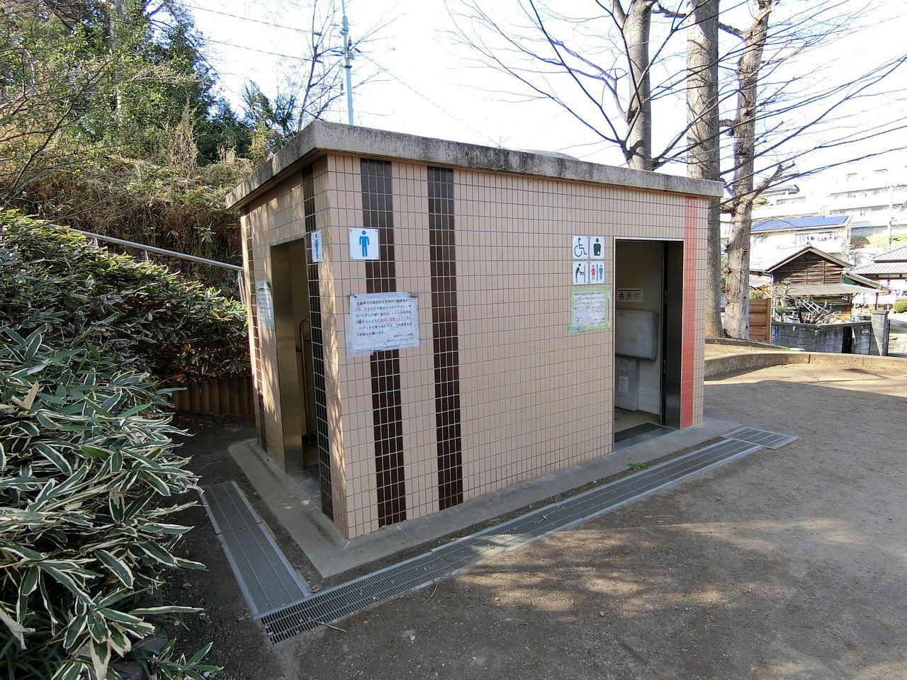 西台公園のトイレ