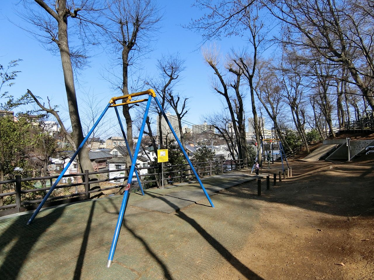 ターザンロープ(西台公園)