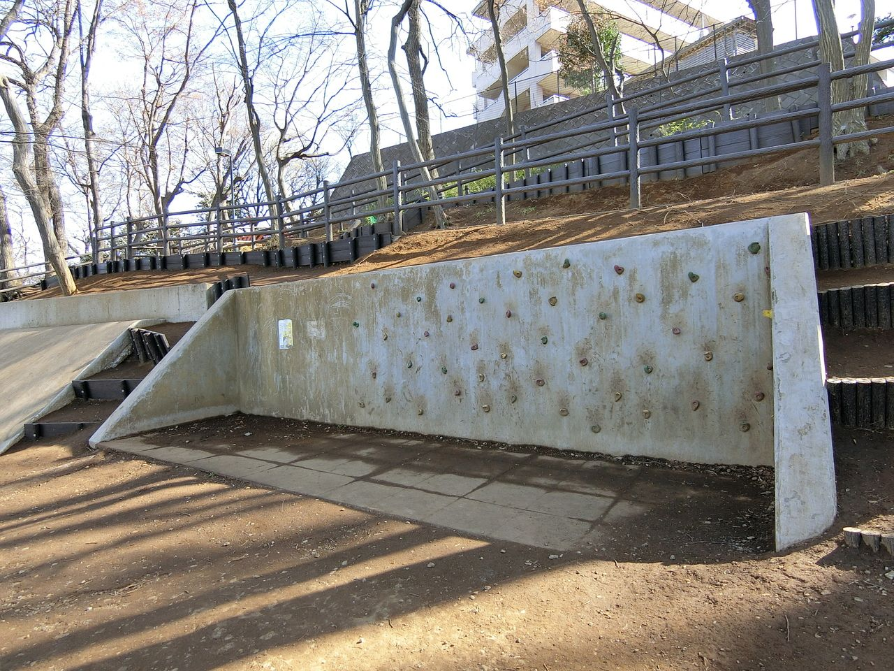 ロッククライム(西台公園)