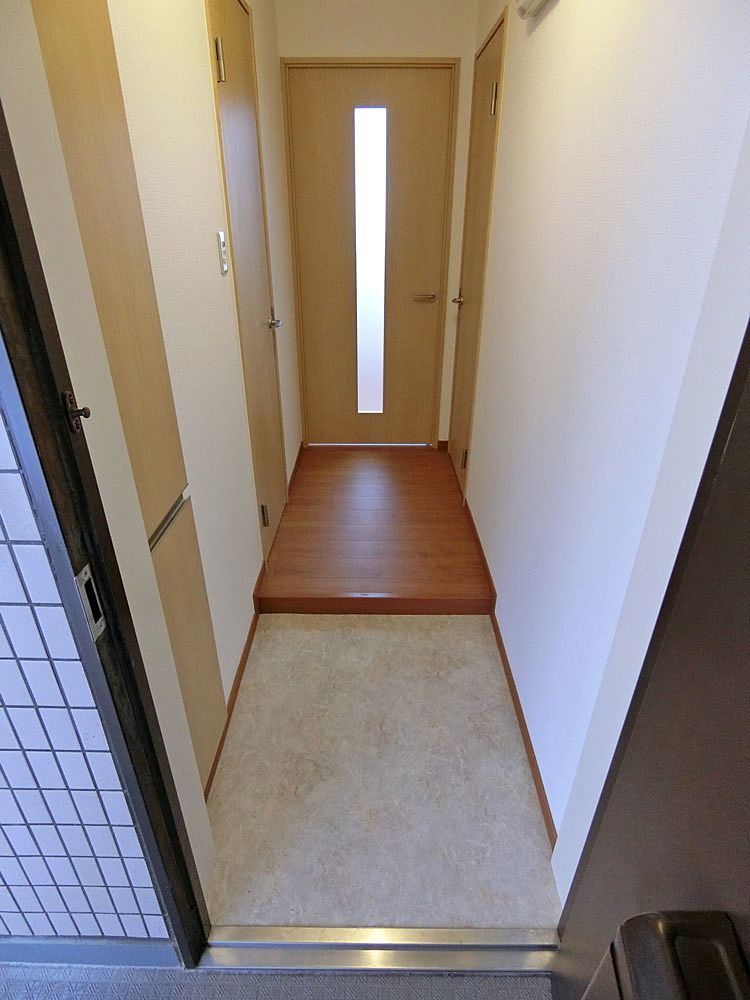 玄関の土間(リフォーム後)