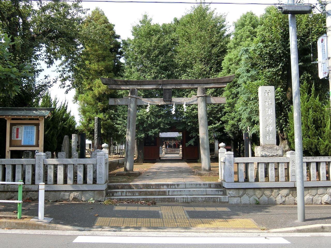 赤塚諏訪神社(板橋区大門)の鳥居