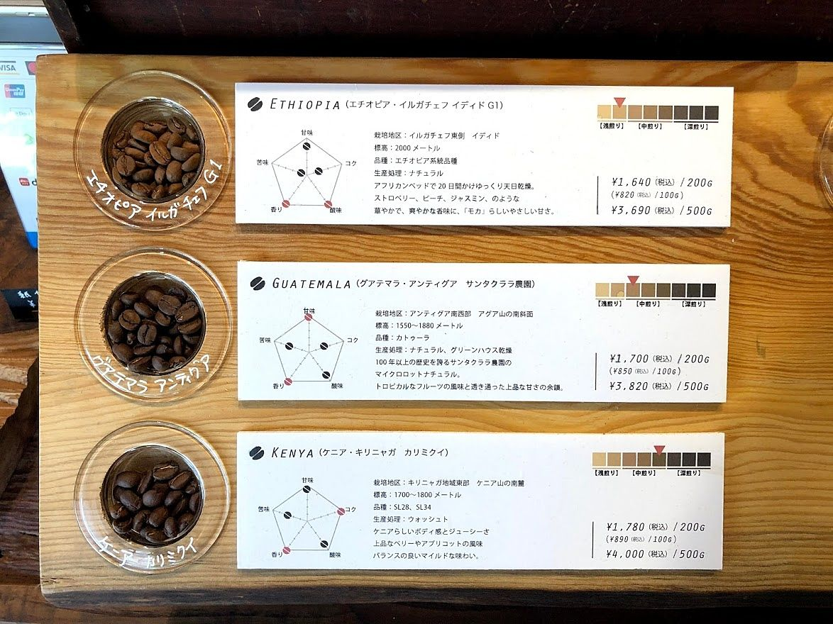 VIVA COFFEE(ビバコーヒー)の珈琲豆