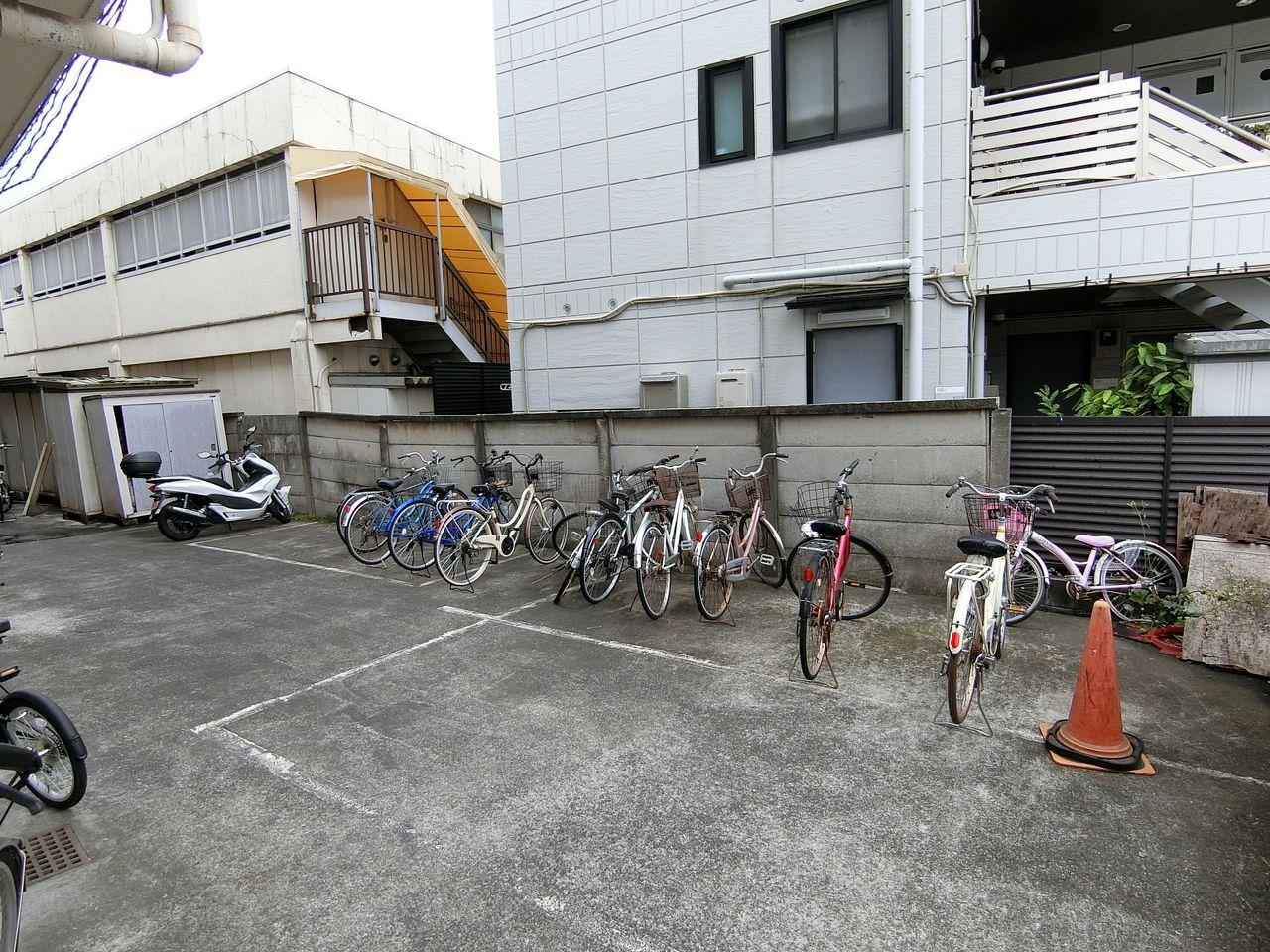 サイクルポートの設置
