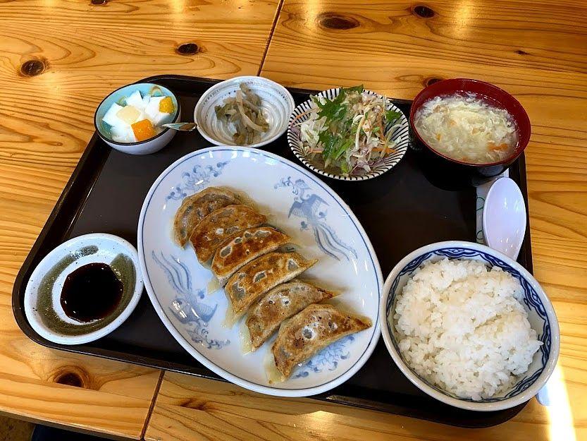 餃子(6ヶ)定食 500円