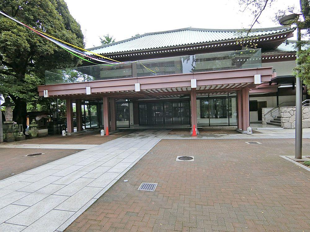 祥雲寺の本堂