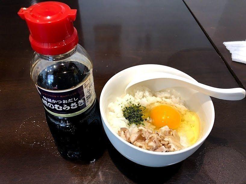 新潟TKG(玉子かけご飯) 250円
